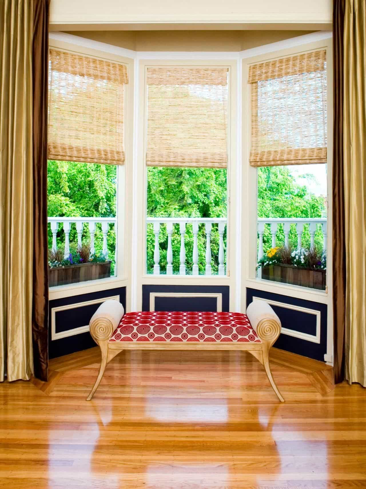 Fenstergestaltung Nice Bay Window Decorating Tips | Esszimmer Vertäfelung, Fenster Dekor, Fenstergestaltung