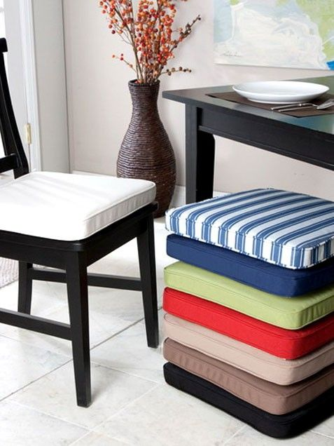 Chair Pads Dining Room Bar Formal Rooms Kitchen Chairs Table