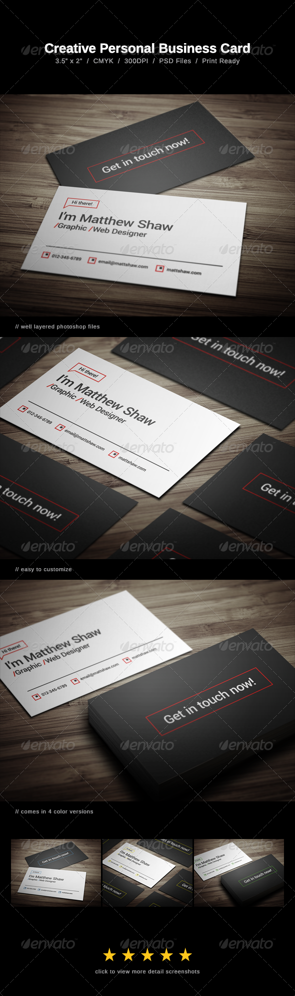 Creative personal business card fonts logos icons pinterest creative personal business card reheart Gallery