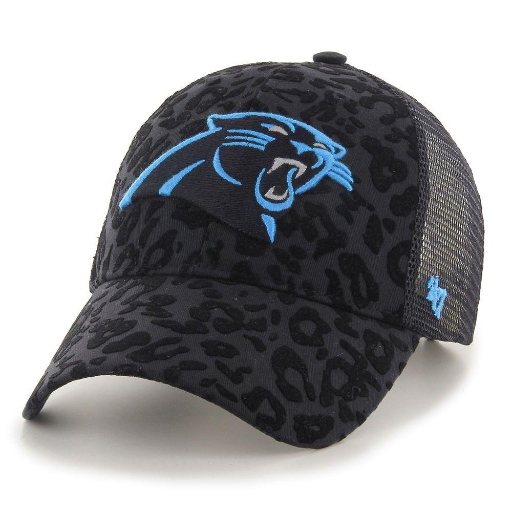 47 Carolina Panthers Women s Black Billie Adjustable Hat  432bfdc37ec