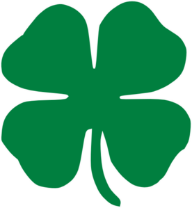 Lia 03 Graphic Symbol This Is Four Leaf Clover The Normally Represents Good Luck However Had Three More Meanings Because Of