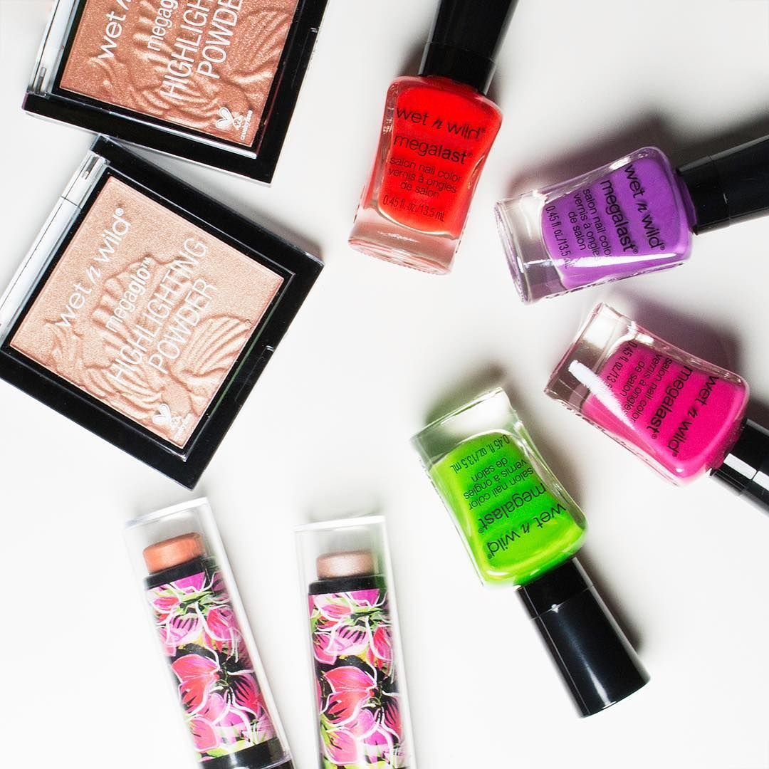 Hey #WildOnes! We're giving you an exclusive look at some of  our new Summer Limited Edition Collection, just in time for #Coachella! Stay tuned for some exciting giveaways starting tomorrow! #wetnwildbeauty #wild4coachella
