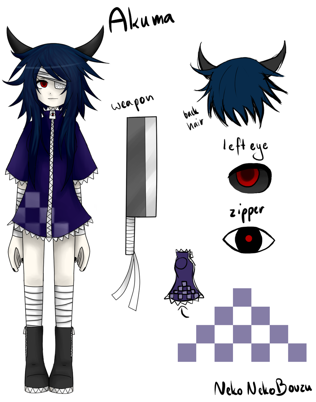 Made another creepypasta oc because why not? Description