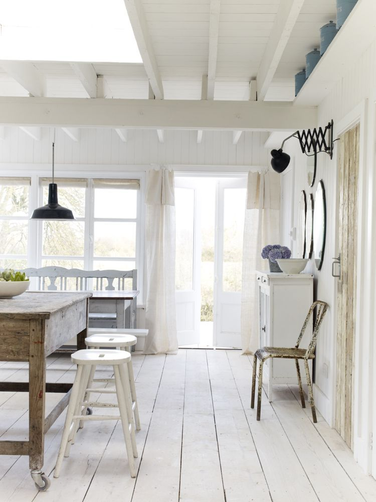 Photo of Shabby Chic White English Cottage Design Inspiration – Hello Lovely