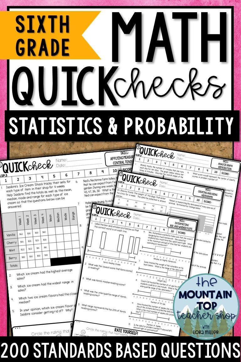 6th Grade Math Review All Standards Bundle Quick Checks Math Review Writing Expressions Graphing Inequalities [ 1152 x 768 Pixel ]