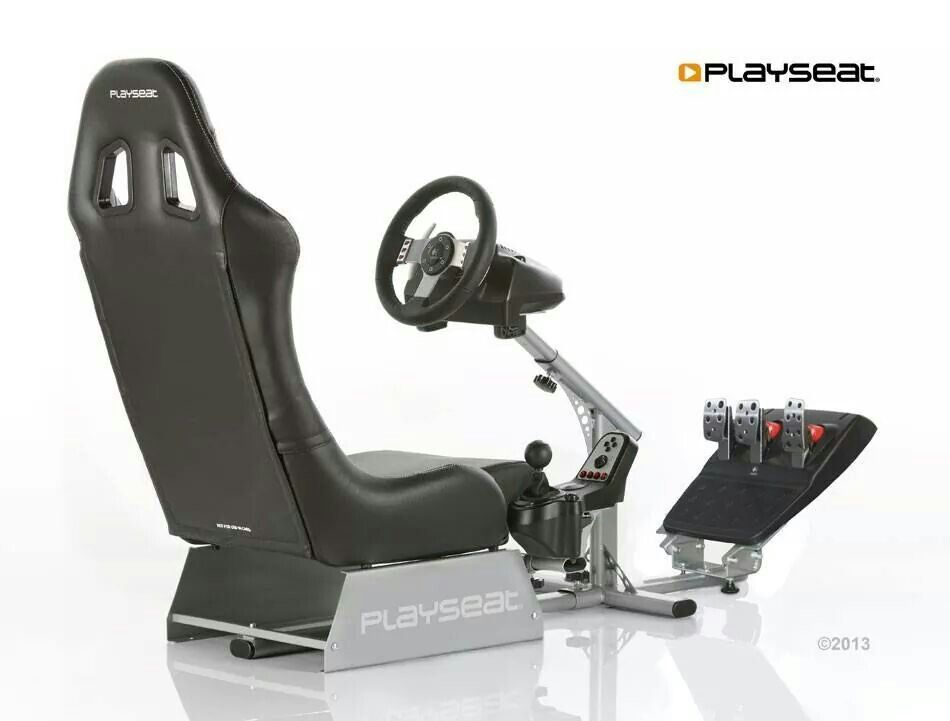 Logitech G27 seat/driving/shifter setup  Real world driving