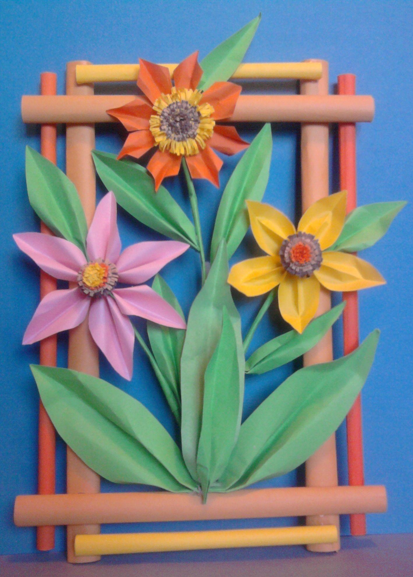 Kwiaty Z Papieru Ikebana Prace Plastyczne Dariusz Zolynski Flowers Paper Paper Flowers Orgiami K Paper Crafts Paper Flowers How To Make Paper Flowers