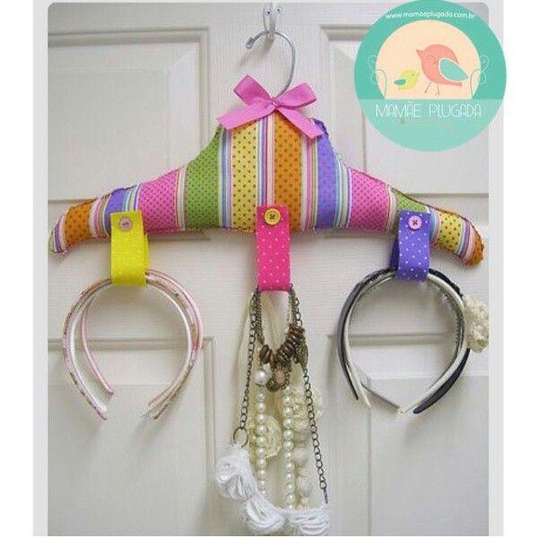 Colgador para diademas etc/ handmade headbands etc organizer.  sc 1 st  Pinterest & Diadema | Idéias para a pequena | Pinterest | Headband holders ...