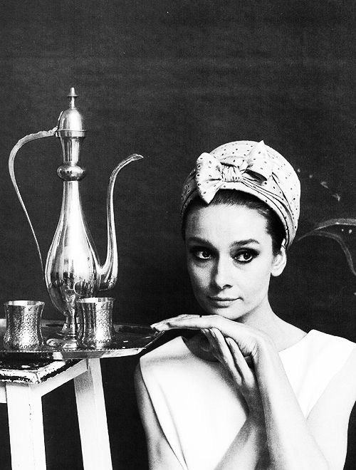 Audrey by Cecil Beaton, portrait and still life