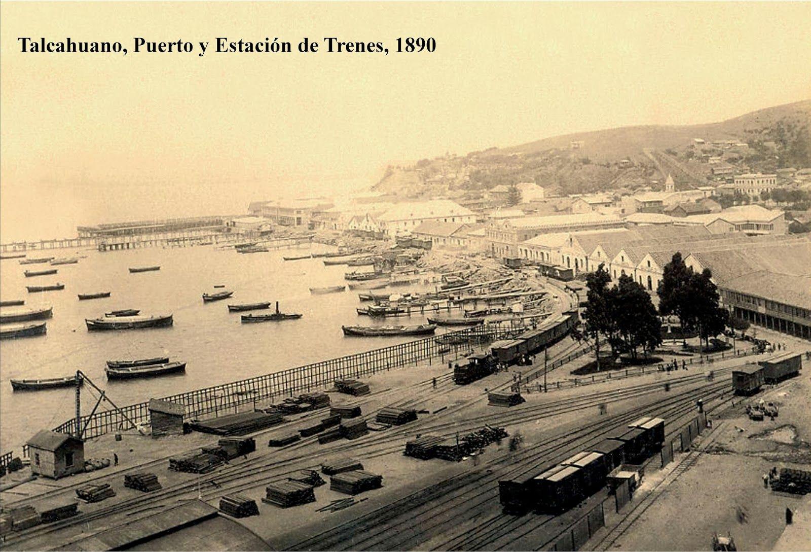 Talcahuano 1890