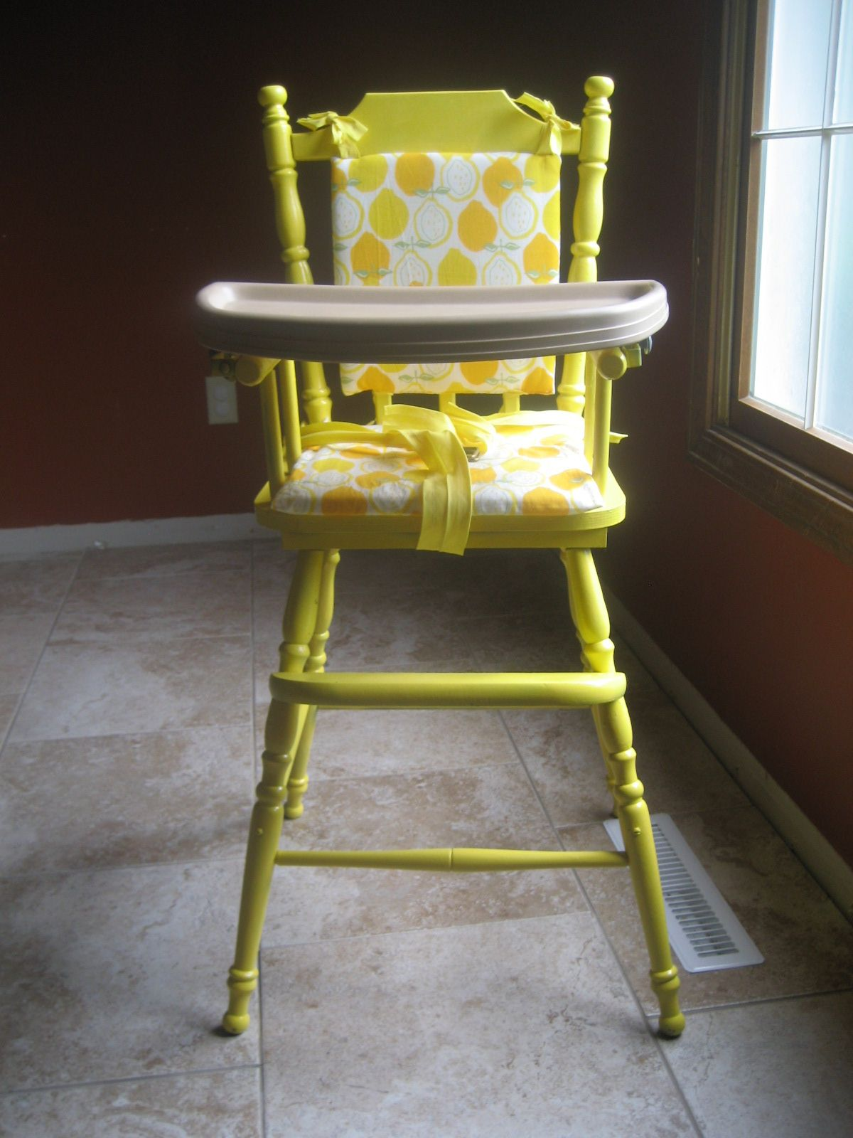 highchair redo i thought about getting rid of mine but maybe i ll