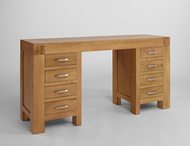 Santana Blonde Oak Desk Dressing Table