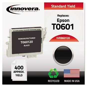 Remanufactured T060120 Ink, 400 Page-Yield, Black
