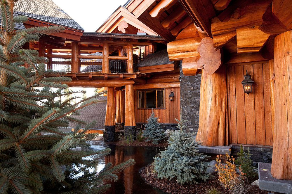 I Want The Outside Of Our Chalet To Look Like This I Love