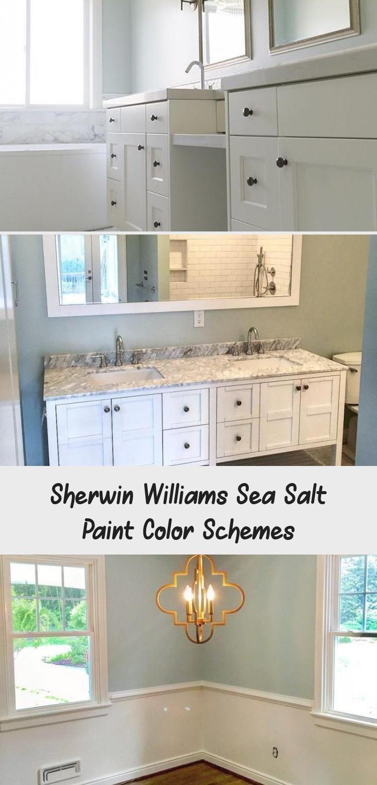 Sherwin Williams Sea Salt Paint Color Schemes Bathroom Bathroom Color Paint Bathroombathro In 2020 Paint Color Schemes Sea Salt Paint Sea Salt Sherwin Williams #sea #salt #paint #living #room