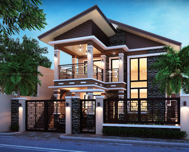 Screen Shot 2015 06 12 At 10 07 10 Pm Philippines House Design Modern House Philippines 2 Storey House Design
