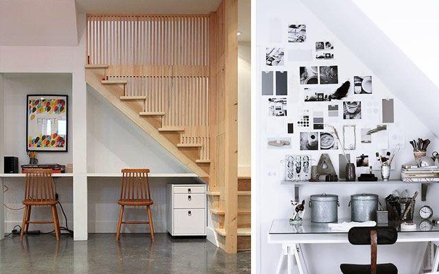 Aprovechando el espacio bajo la escalera iii el for Decoracion piso bajo