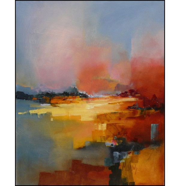 Modern landscapes by artist g rard mursic http www for Peintres abstraits
