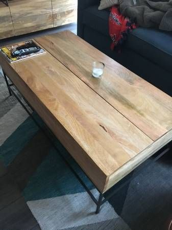 Craigslist Crushes West Elm Furniture Coffee Table Barrel Coffee Table West Elm Coffee Table