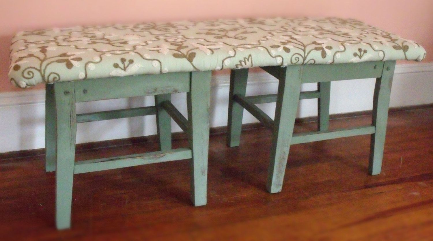 Foyer Entry or Boudoir Bench by BonsaiTreehouse on Etsy