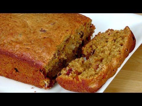 Fruity Nutty Pumpkin Bread Recipe Laura Vitale Laura In
