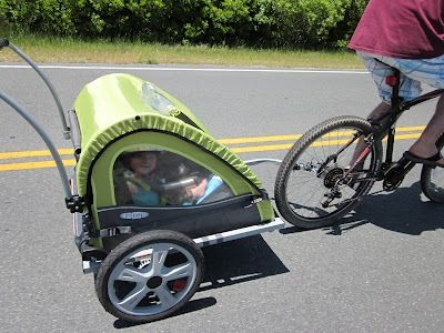 Put a helmet on baby and off you go!