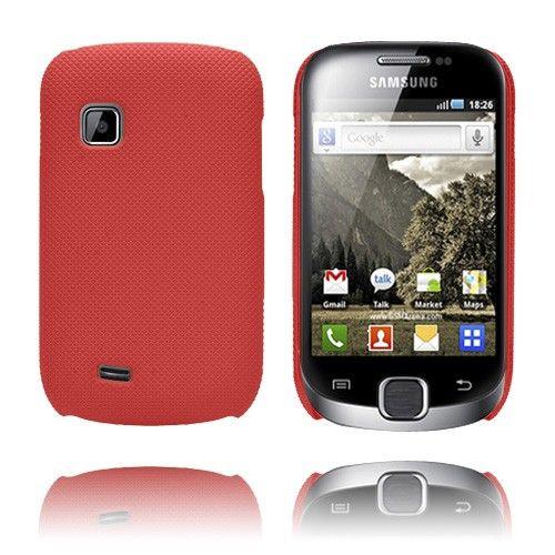 SuperGrip (Punainen) Samsung Galaxy Fit Suojakuori