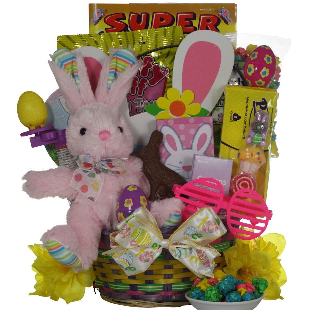 Hoppin easter fun easter basket for girls ages 3 5 years old hoppin easter fun easter basket for girls ages 3 5 years old negle Image collections