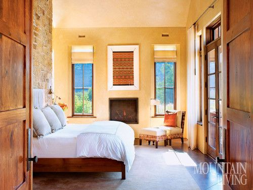 Bedrooms - traditional - bedroom - Mountain Living Interiors