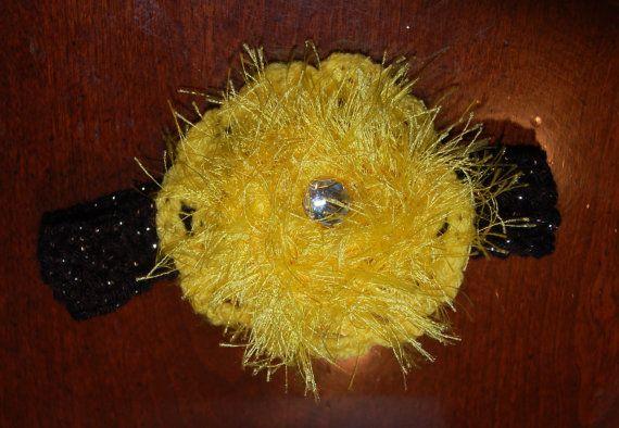 Crocheted Baby Headband by patsyj on Etsy, $3.00