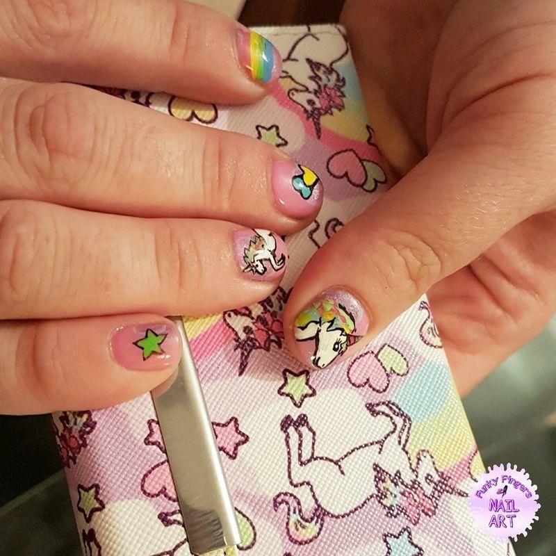 Nailpolis Museum Of Nail Art Unicorn Nails By Funky Fingers Nail