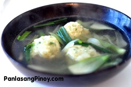 Fish Ball Soup Recipe Fish Ball Soup Recipe Recipes Fish Ball