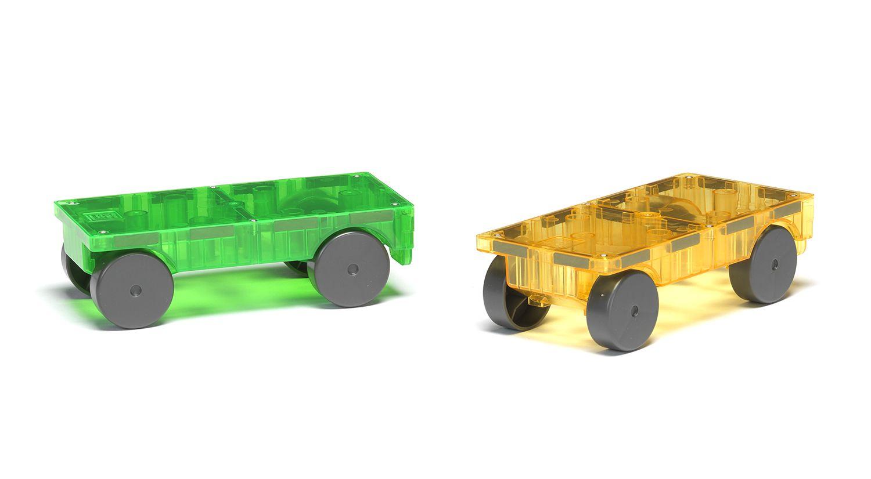 Cars 2 Piece Expansion Set Growing Magna Tiles