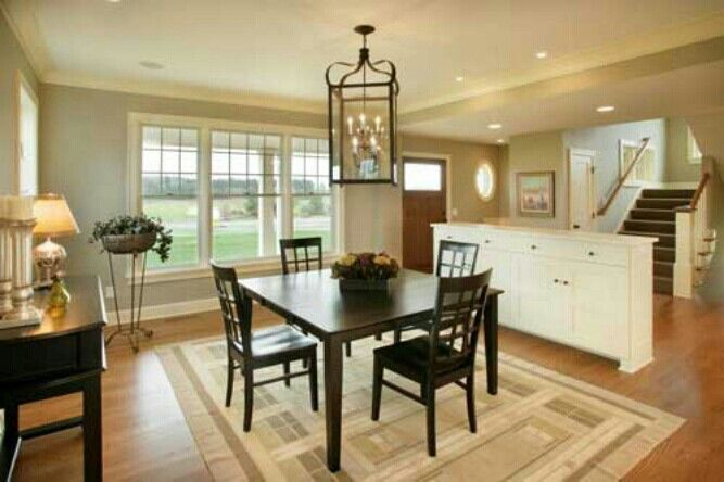 Dining Room And Kitchen Ideas Via Houzz Com Simple Interior