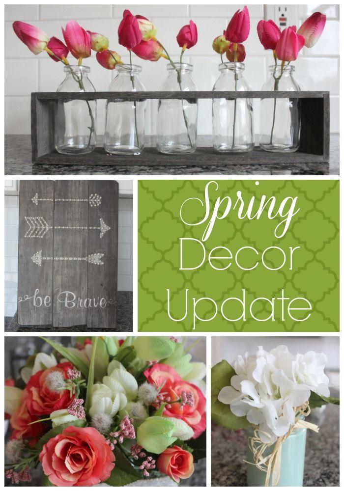 Spring Decor Update | Budget Savvy Diva