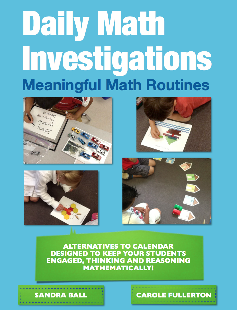 Daily Math Investigations for K-2 – An Alternative to Calendar ...