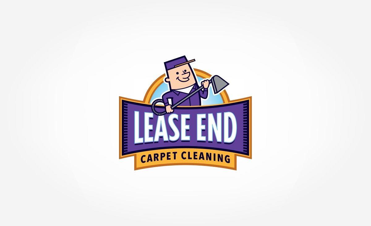 Mascot #logodesign for Lease End Carpet Cleaning, a carpet cleaning service company in Kansas. - NJ Advertising Agency, NJ Ad Agency, NJ Web Design, ...