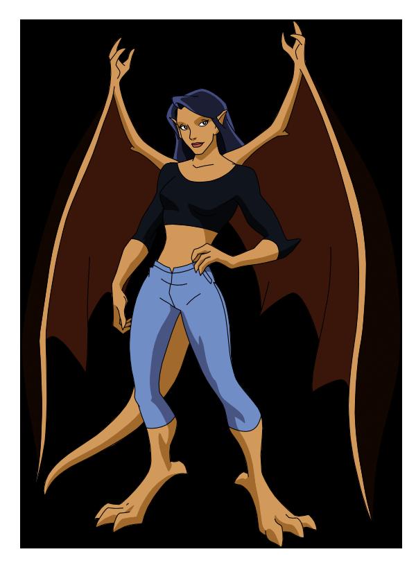 Gargoyle Elisa by SpiedyFan.deviantart.com on @deviantART ...
