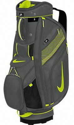 Nike Ladies Men s Sport Cart II Golf Bags – Dark Base Grey Venom Green   mensgolfclubsets 1dc5b4c610452