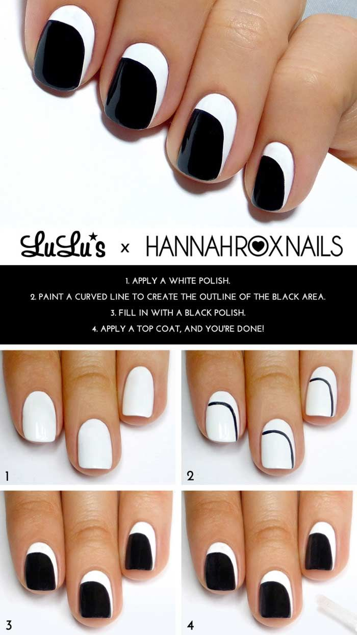 Top 60 easy nail designs for short nails 2018 update trendy top 60 easy nail designs for short nails 2018 update prinsesfo Image collections