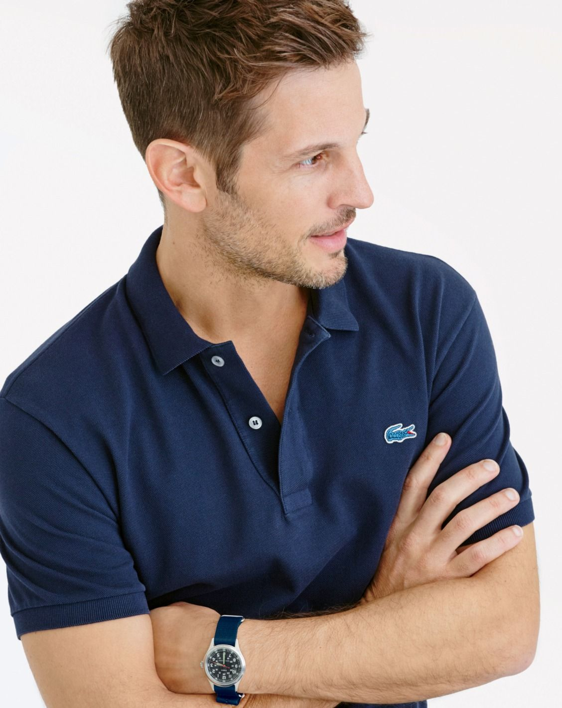 "33a33b6128 The first Lacoste polo shirt was designed in 1933 by French tennis champion  René Lacoste, nicknamed ""the Crocodile."" Our J.Crew men's exclusive version  ..."