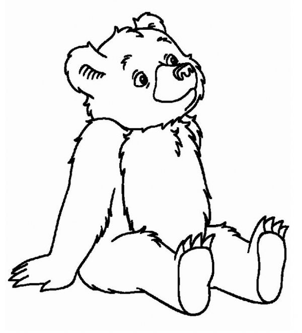 Little Bear Coloring Pages Google Search Bear Coloring Pages