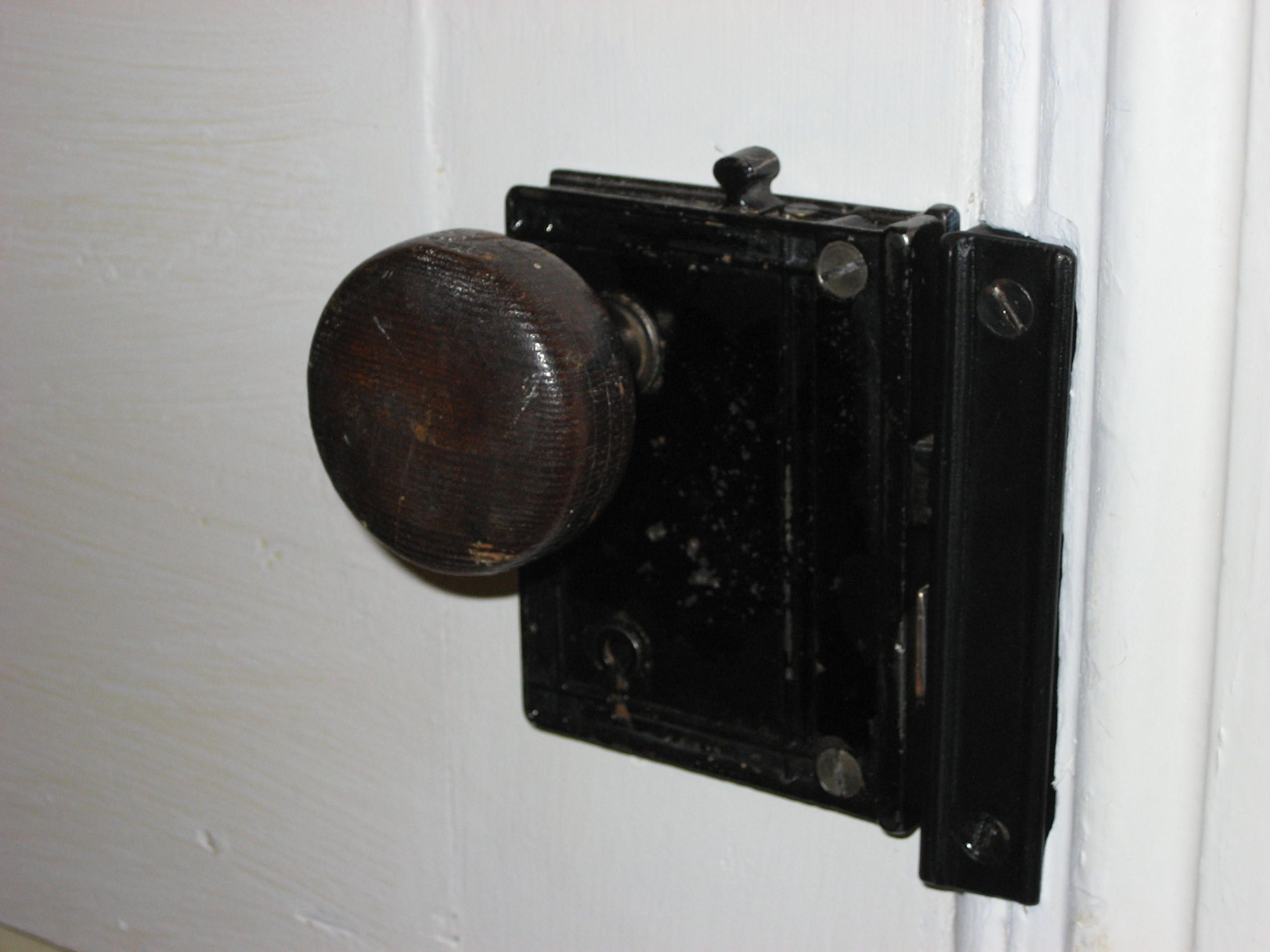 - Old fashioned interior door locks ...