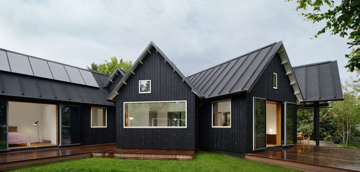 House In Denmark Rustic Village House Integrating Traditional Danish  Elements By Powerhouse Company Good Looking
