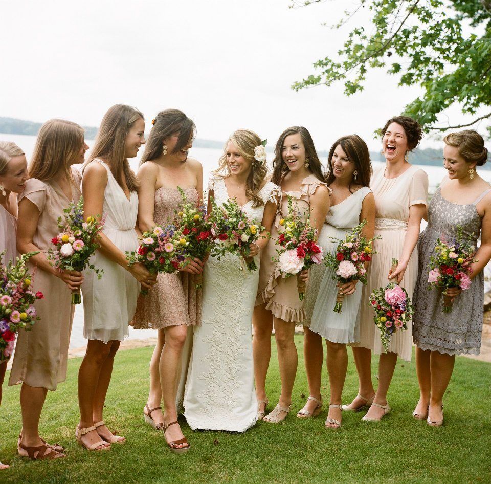 Alabama lake wedding neutral mis matched bridesmaid dresses alabama lake wedding neutral mis matched bridesmaid dresses bridesmaids marieeami ombrellifo Image collections
