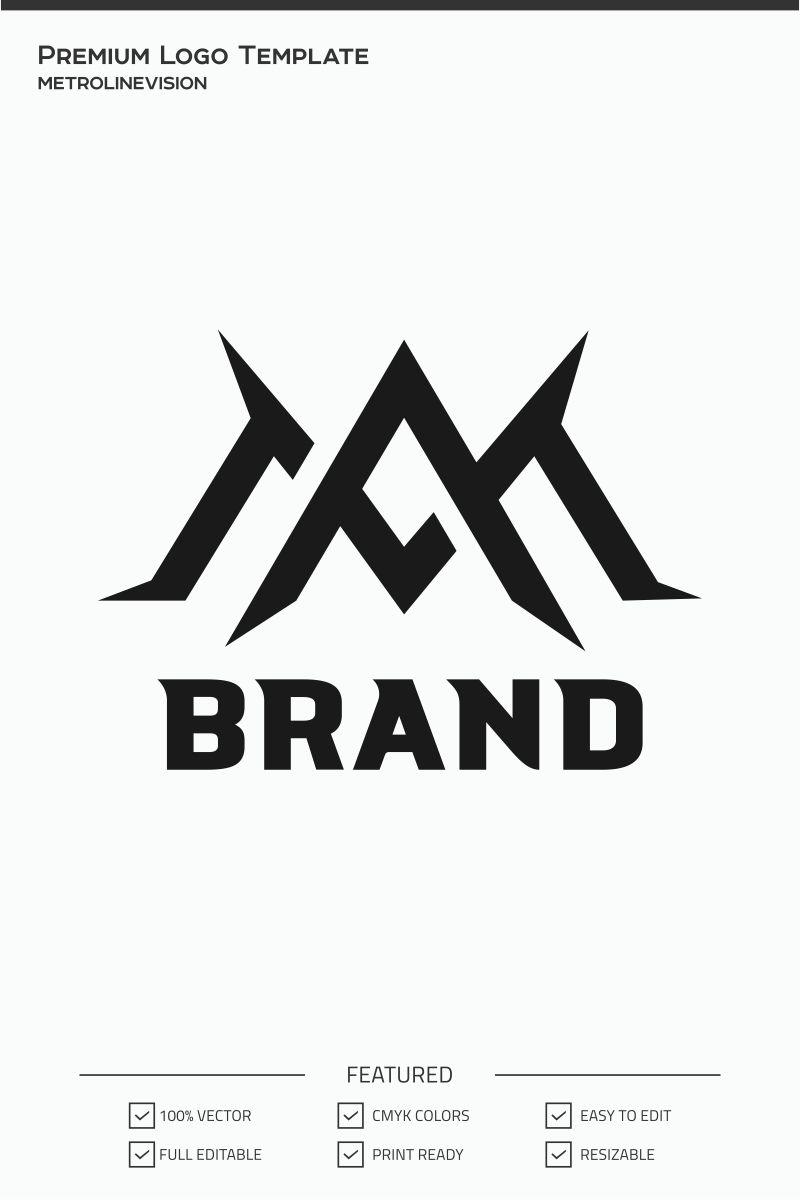 Am Letter Logo Template 74044 Letter Logo Logo Templates Logos