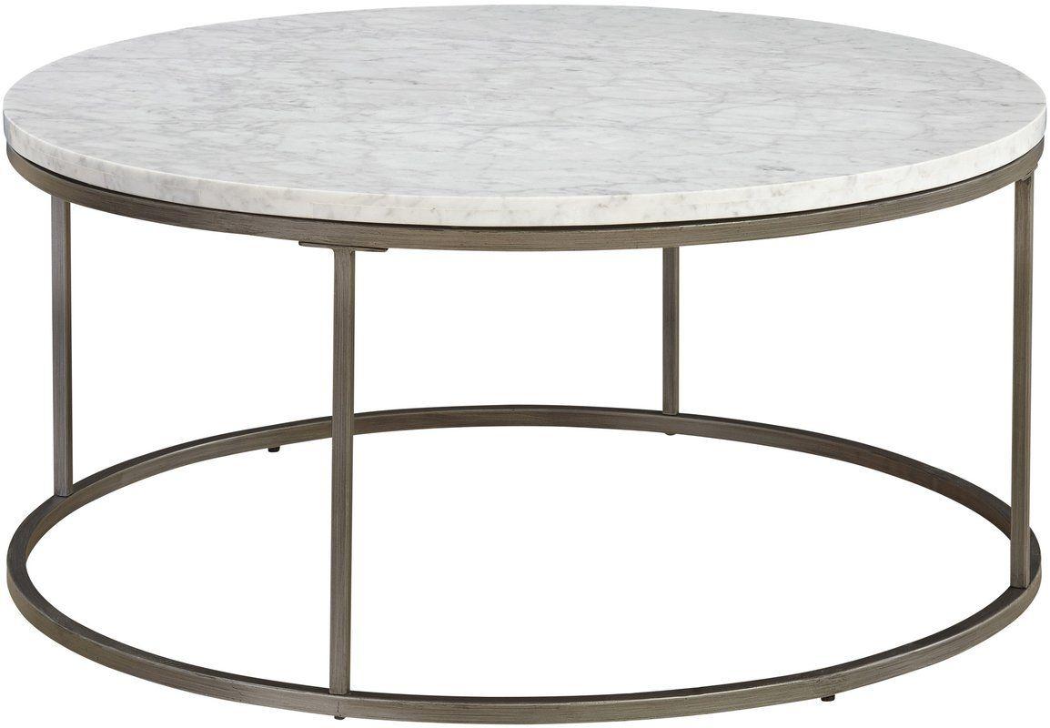 Latitude Run Alfreda Round Coffee Table Reviews Wayfair Marble Coffee Table Marble Top Coffee Table Round Coffee Table [ 800 x 1154 Pixel ]