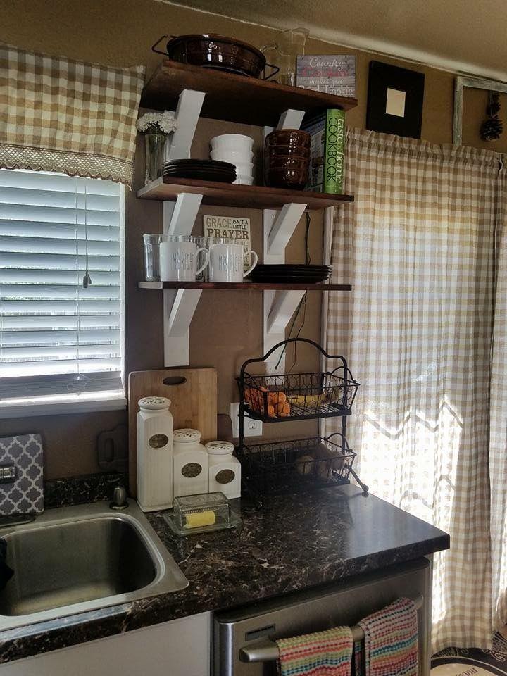 Kitchen shelves DIY #householdercustoms Things I\u0027ve made