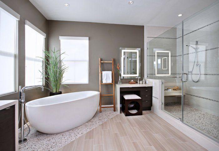 Einbauleuchten Badezimmer ~ Bodenbelag design badezimmer bodenfliesen mosaikfliesen