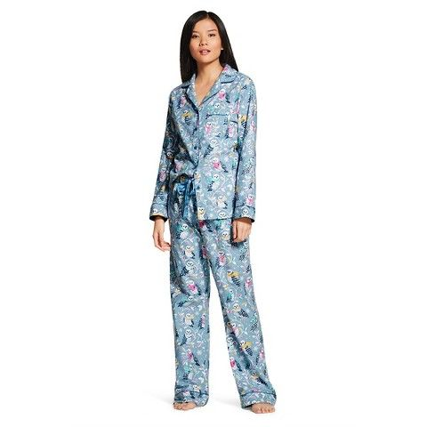 3a5a02c1007a Target - Women s Pajama Set Owl Floral - Nick   Nora® XL